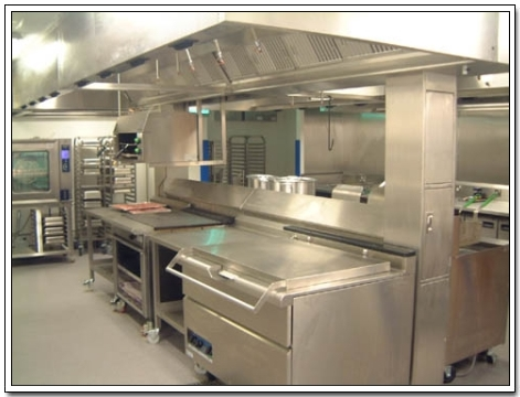 Restaurant Kitchen Stations